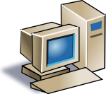 computer serverputer clipart free clipart images clipartcow output devices of computer clipart 800 709
